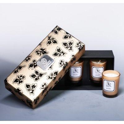 Свеча парфюмированная в наборе JADE GOLD