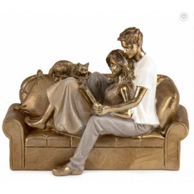 Свадебная статуэтка ПАРА ВЛЮБЛЕННЫХ