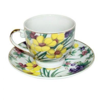 Чайный набор ПОЛЕВЫЕ ЦВЕТЫ 6 персон
