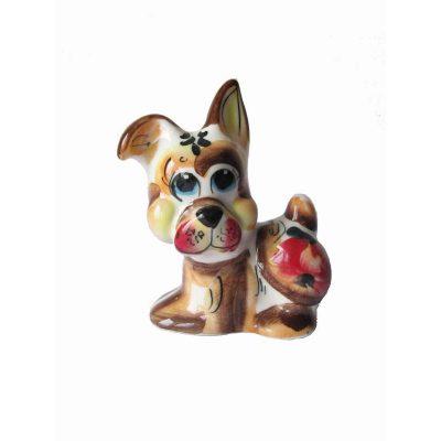 Коллекционная фигурка Собака БОБИК (фарфор)