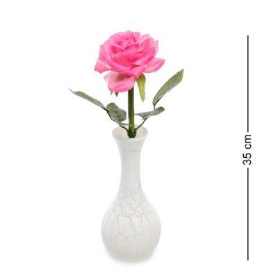 Светящиеся цветы РОЗА Розовая