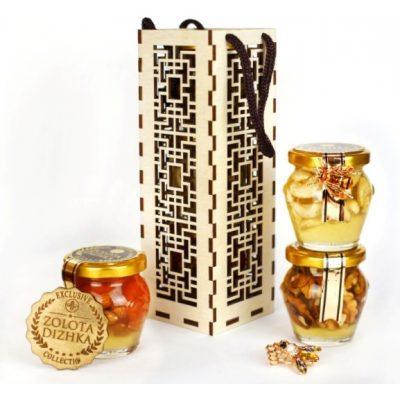 Медовий подарунковий набір КЛАСИЧНИЙ