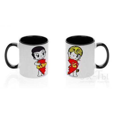 Парные чашки 'Вместе с любовью'