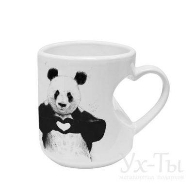 Авторская чашка 'Панда любит тебя!'