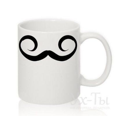Чашка с усами №2