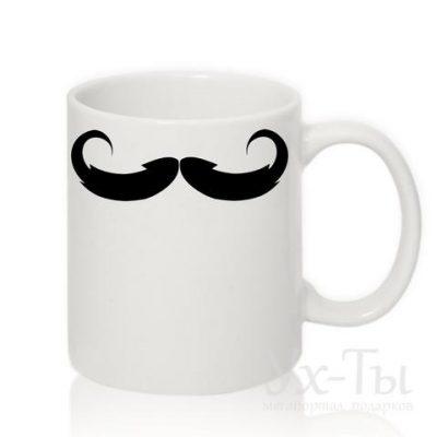 Чашка с усами №1