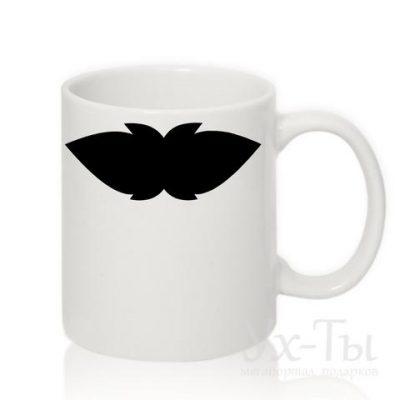 Чашка с усами №5