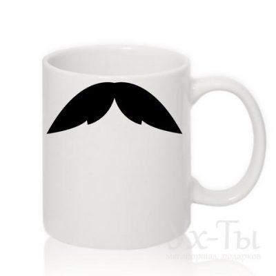 Чашка с усами №6