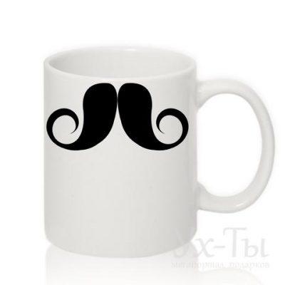 Чашка с усами №8