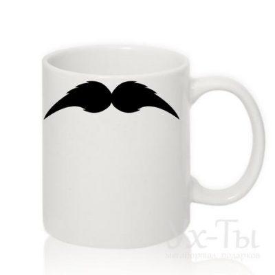 Чашка с усами №7