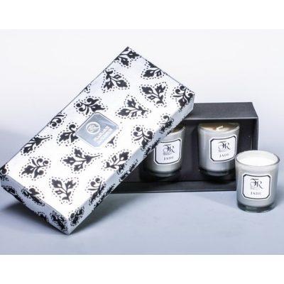Свеча парфюмированная в наборе JADE SILVER