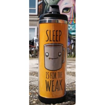 Термокружка SLEEP is for the WEAK