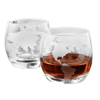 Комплект подарочный Бокалы для Виски ВОКРУГ СВЕТА