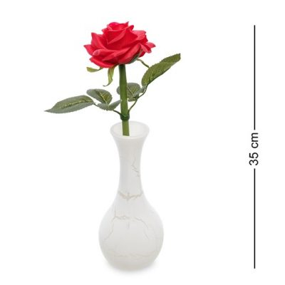 Светящиеся цветы РОЗА Красная