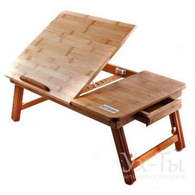 Бамбуковый столик для ноутбука UFT T27