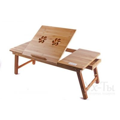 Бамбуковый столик для ноутбука UFT Helper T13