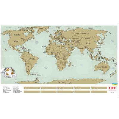 Скретч-карта МИРА английский язык