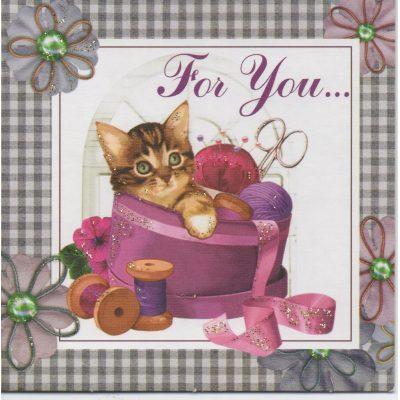 Мини-Открытка KITTY for YOU