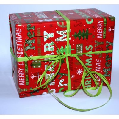 Подарочная упаковка MERRY CRISTMAS