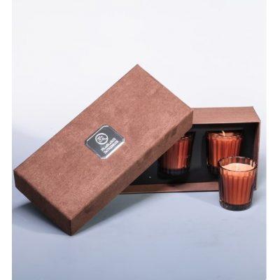 Свеча парфюмированная в наборе ГОРЯЧИЙ БЕЛЫЙ ШОКОЛАД
