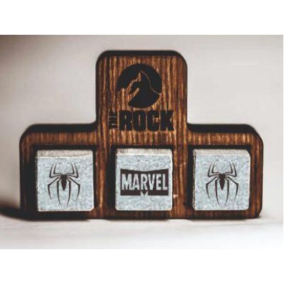 Камни для виски с Гравировкой SPIDER-MAN