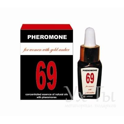 Эссенция масел-афродизиаков 'PHEROMON 69 for women'