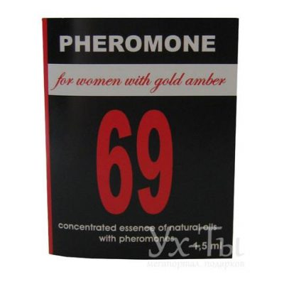 Эссенция масел-афродизиаков 'PHEROMON 69' 1,5 мл
