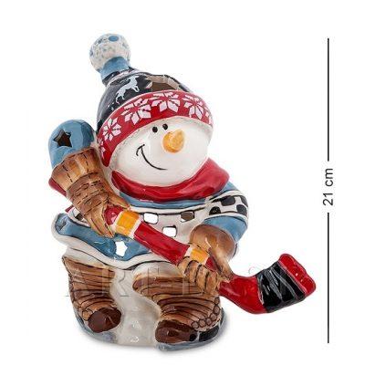 Подсвечник 'Снеговик'