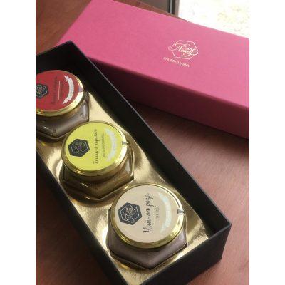 Крем-Мёд в подарочном наборе 3 TESTE