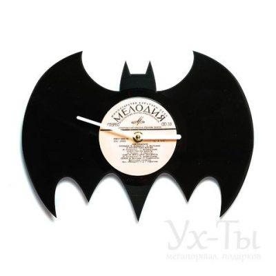 Виниловые часы 'Batman'