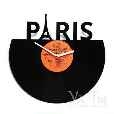 Виниловые часы 'Париж'