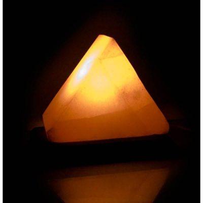 Соляная лампа из Гималайской соли ТРЕУГОЛЬНИК