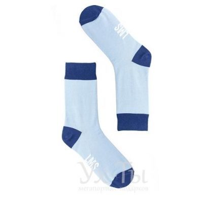 Шкарпетки БЛАКИТНІ