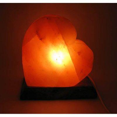 Соляная лампа из Гималайской соли ПЛАМЕННОЕ СЕРДЦЕ