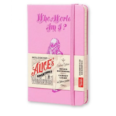 Блокнотик Алиса в Стране чудес pink (лимитированная серия) Moleskine