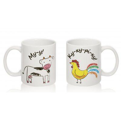 Умная чашка 'Животные'