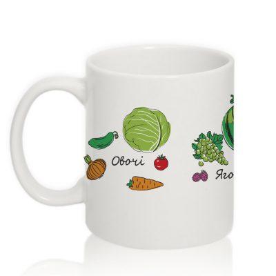 Умная чашка 'Овощи+фрукты+ягоды'