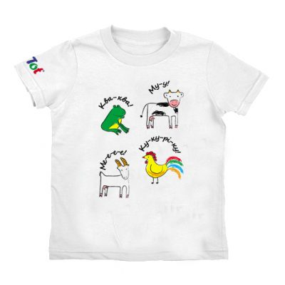 Умная футболка КТО как ГОВОРИТ?