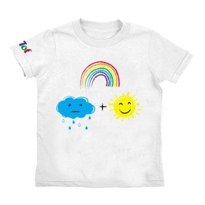 Умная футболка РАДУГА