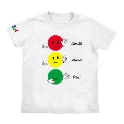 Умная футболка СВЕТОФОР