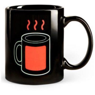 Чашка-хамелеон Горячий чай
