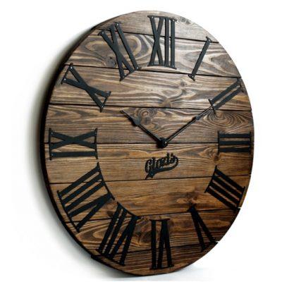 Настенные часы Деревянные KANSAS MOKKO