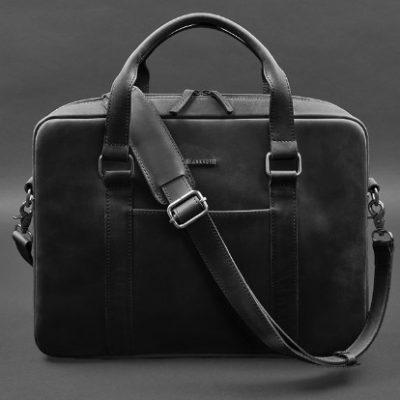 Мужской кожаный портфель TIDING BAG BUISNESS