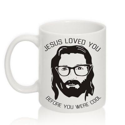 Авторская чашка 'Jesus loved you'