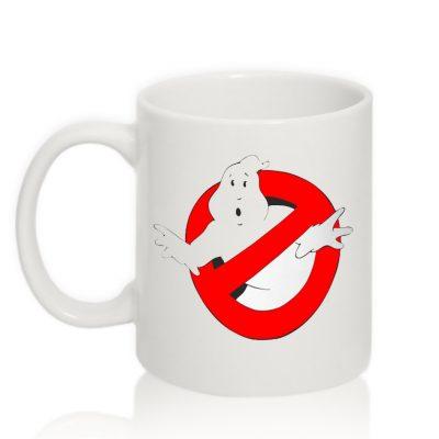 Авторская чашка 'Ghostbusters'