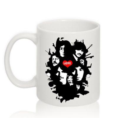 Авторская чашка 'Beatles'