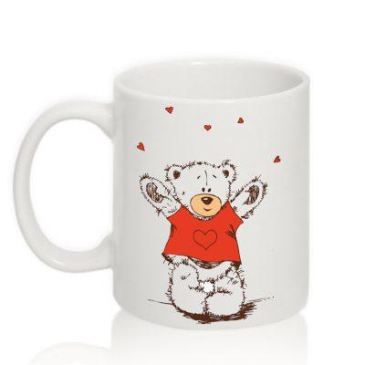 Авторская чашка 'Мишка'