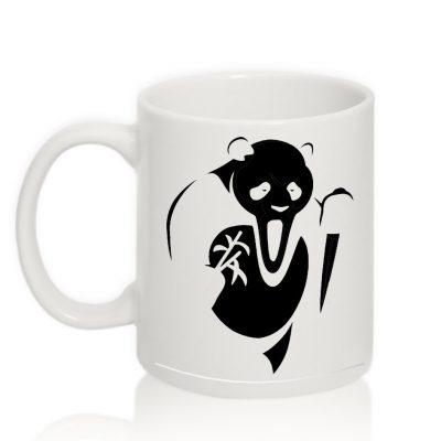 Авторская чашка 'Scarry Panda'