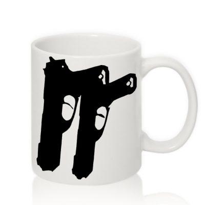 Авторская чашка 'Два ствола'