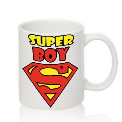Чашка для Мужчин SUPER Boy